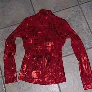 Red Lululemon Manifesto Define Jacket